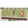 Jungle Time Window Valance by Sweet Jojo Designs