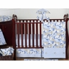 Khaki and Blue Camo Baby Bedding - 11pc Crib Set by Sweet Jojo Designs