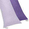 Lavender and Purple Sloane Full Length Double Zippered Body Pillow Case Cover