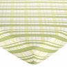 Leap Frog Fitted Crib Sheet for Baby and Toddler Bedding Sets by Sweet Jojo Designs - Plaid Print