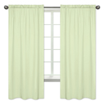 Light Green Window Treatment Panels by Sweet Jojo Designs - Set of 2