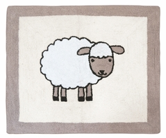 Little Lamb Accent Floor Rug by Sweet Jojo Designs