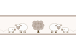 Little Lamb Children and Kids Modern Wall Border by Sweet Jojo Designs