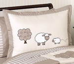 Little Lamb Pillow Sham by Sweet Jojo Designs