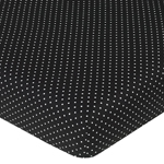 Madison Fitted Crib Sheet for Baby/Toddler Bedding - Polka Dots