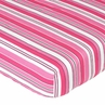 Madison Fitted Crib Sheet for Baby/Toddler Bedding Sets - Stripe Print