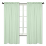 Mint Green Window Treatment Panels by Sweet Jojo Designs - Set of 2