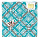Mod Elephant Fabric Memory/Memo Photo Bulletin Board by Sweet Jojo Designs