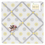 Mod Garden Fabric Memory/Memo Photo Bulletin Board by Swe...