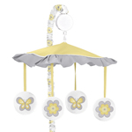 Mod Garden Musical Baby Crib Mobile by Sweet Jojo Designs