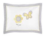 Mod Garden Pillow Sham by Sweet Jojo Designs