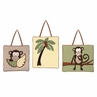 Monkey Wall Hanging Accessories by Sweet Jojo Designs