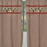 Monkey Window Treatment Panels - Set of 2