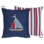 Nautical Nights Decorative Accent Throw Pillow