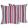 Nautical Nights Decorative Accent Throw Pillows - Set of 2