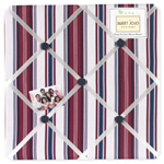 Nautical Nights Fabric Memory/Memo Photo Bulletin Board