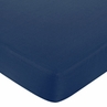 Nautical Nights Fitted Crib Sheet for Baby/Toddler Bedding - Navy Blue