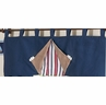 Nautical Nights Sailboat Boys Window Valance by Sweet Jojo Designs