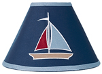 Nautical Nights Sailboat Lamp Shade
