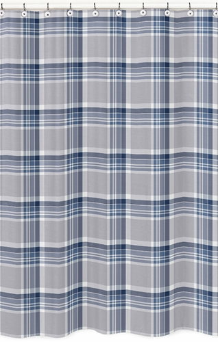 Navy Blue Plaid Curtains Country Plaid Curtains