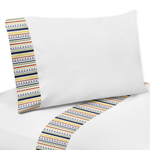 3 pc Twin Sheet Set for Modern Robot Bedding Collection