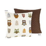 Night Owl Decorative Accent Throw Pillow