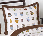 Night Owl Pillow Sham by Sweet Jojo Designs