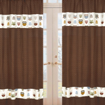 Night Owl Window Treatment Panels - Set of 2