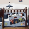 Ocean Blue Sea Life Baby Bedding - 9pc Crib Set by Sweet Jojo Designs