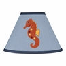 Ocean Blue Sea Life Lamp Shade by Sweet Jojo Designs