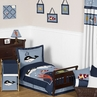 Ocean Blue Sea Life Toddler Bedding - 5pc Set by Sweet Jojo Designs