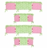 Olivia Collection Crib Bumper by Sweet Jojo Designs