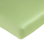 Olivia Fitted Crib Sheet for Baby/Toddler Bedding - Mini Polka Dots