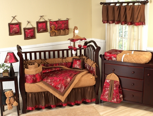 baby Asian bedding inspired