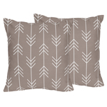Outdoor Adventure Decorative Accent Throw Pillows - Set of 2