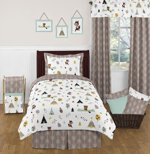 Outdoor Adventure Nature 4pc Twin Bedding Set - Click to enlarge