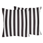Paris Decorative Accent Throw Pillows - Set of 2