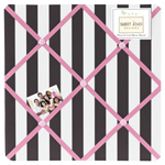 Paris Fabric Memory/Memo Photo Bulletin Board