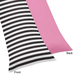 Paris Full Length Double Zippered Body Pillow Case Cover
