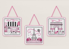 Paris Wall Hanging Accessories by Sweet Jojo Designs