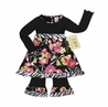 Pink and Black Designer Baby Girls Infant Set or Dress by Sweet Jojo Designs