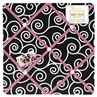 Pink and Black Madison Fabric Memory/Memo Photo Bulletin Board
