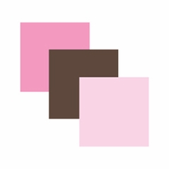 Pink and Brown Bedding