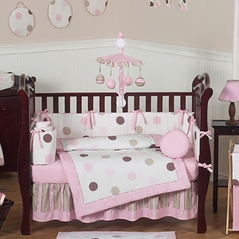 Brown And Pink Crib Bedding 28 Images