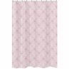 Pink and Gray Alexa Butterfly Kids Bathroom Fabric Bath Shower Curtain