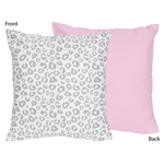 Pink and Gray Kenya Decorative Accent Throw Pillow by Swe...