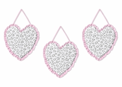 Pink and Gray Kenya Wall Hanging Accessories by Sweet Jojo Designs