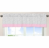 Pink and Gray Kenya�Window Valance by Sweet Jojo Designs