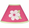 Pink and Green Flower Lamp Shade by Sweet Jojo Designs