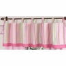 Pink and Green Jungle Friends Window Valance by Sweet Jojo Designs